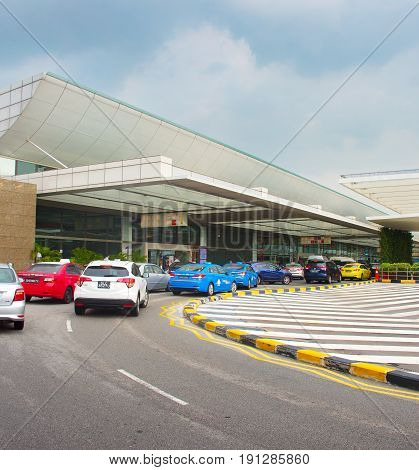 Changi Airport Terminal, Singapore