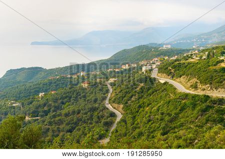 Albania Sea Coast Landscape
