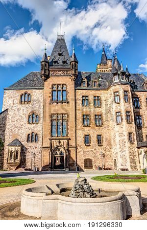 Wernigerode Castle In Saxony-anhalt