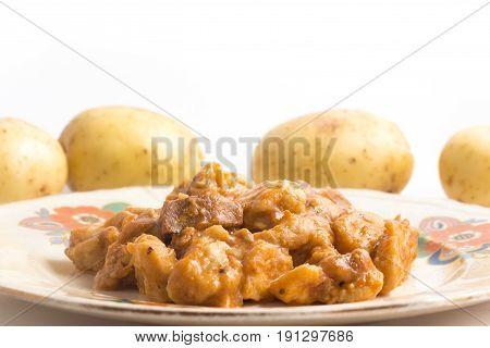 Gnocchi With Chicken