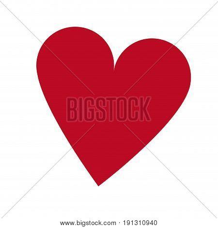 casino ace heart poker card icon vector illustration