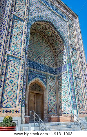 Shah-i-zinda Mausoleum, Samarkand