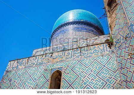 Bibi-khanym Mosque Detail, Samarkand, Uzbekistan