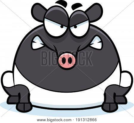 Angry Cartoon Tapir