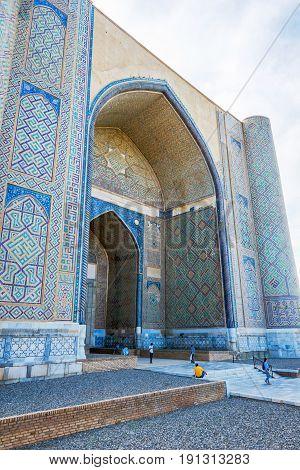 Bibi Khanum Mausoleum, Samarkand, Uzbekistan