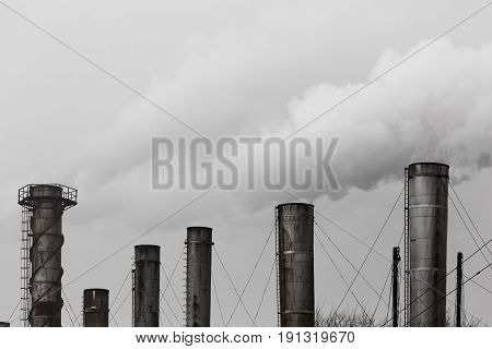 Pollution of the environment. The exhaust emissions from the chimneys into the atmosphere. Combined heat and power. The greenhouse effect. Environmental disaster