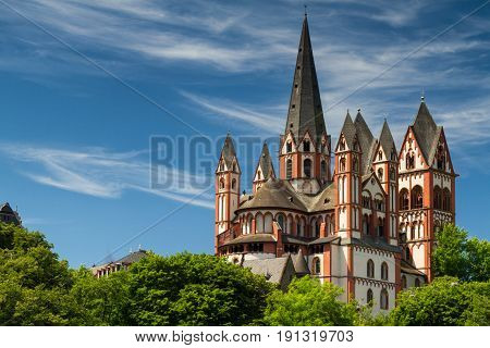 Romanesque cathedral of Limburg, Lahn, Hesse Germany