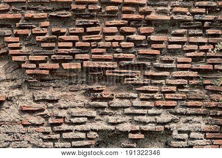 Old Wall Close    Up