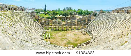 The Huge Amphitheater