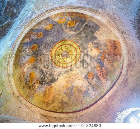 Fresco On The Cupola