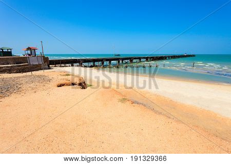Talaimannar Pier, Sri Lanka
