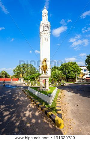 Clock Tower In Jaffna