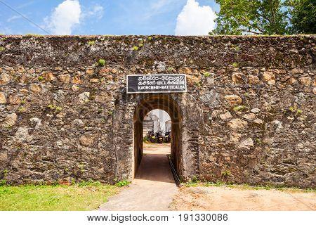 Batticaloa Fort, Sri Lanka