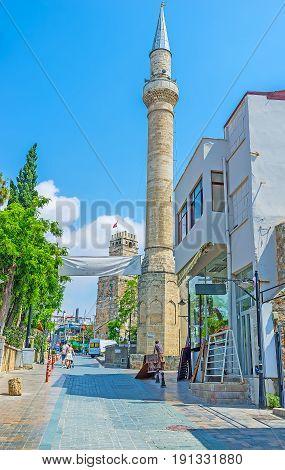 The Tall Stone Minaret