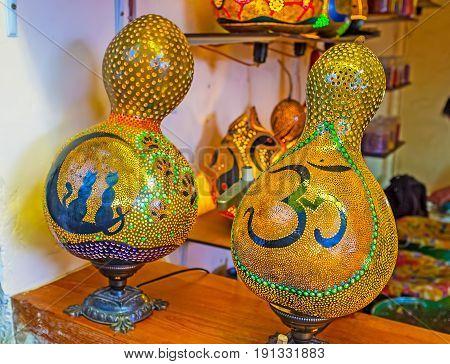 The Turkish Pumpkin Lamps