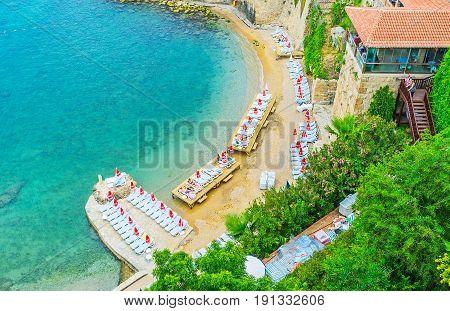 Mermerli Beach In Antalya
