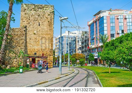 The Ancient And Modern Antalya