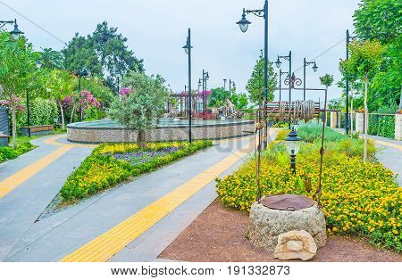 Landscaping Of Antalya Parks