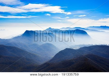 Adams Peak Sunrise View