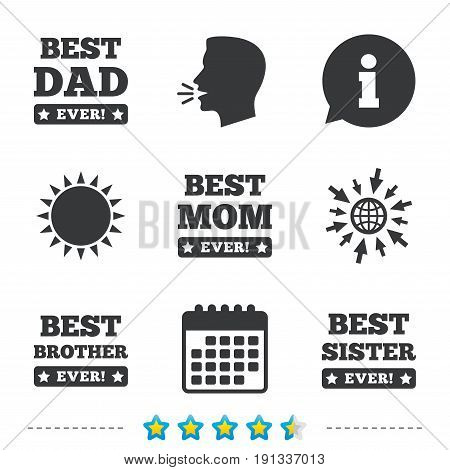 Best Mom Dad Brother Vector Photo Free Trial Bigstock
