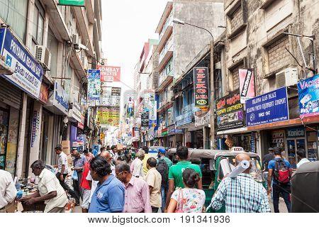 Pettah Market Street, Colombo
