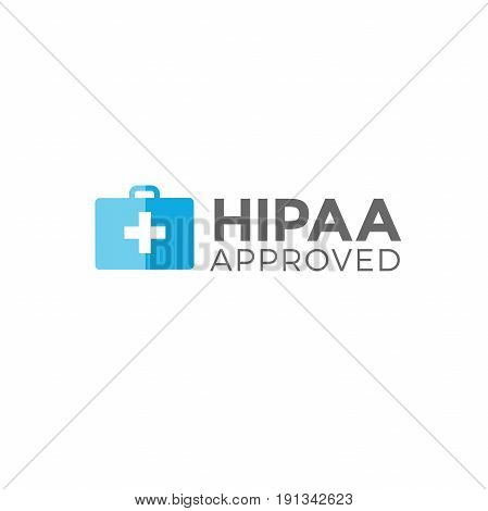 HIPAA Compliance Icon Graphic - APPROVED with doctor bag