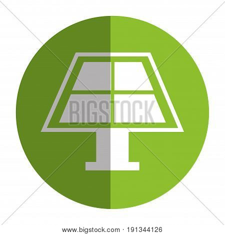 panel solar isolated icon vector illustration design