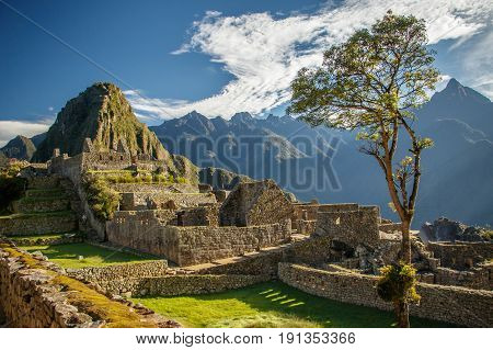 The most famous picture of Peru and also whole South America is the ancient landmark of Machu Picchu near Cuzco