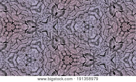 Abstract Concrete Cracks Pattern