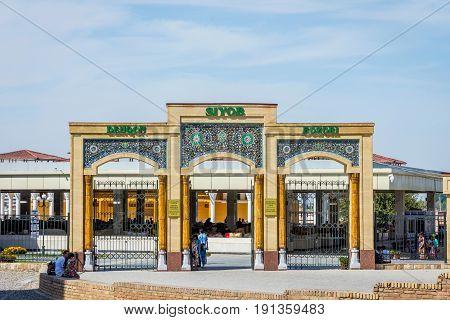 Siab Bazaar Market, Samarkand, Uzbekistan