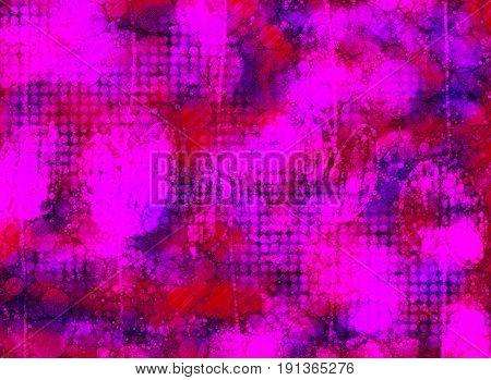 A neon pink and purple grunge backround wallpaper design element