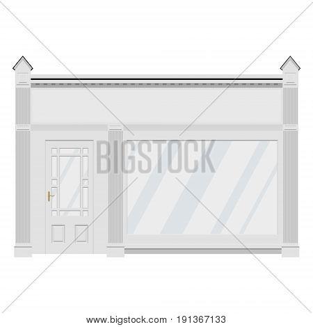 Shop Building Facade
