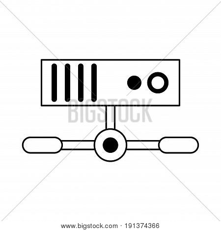 Electronic base date icon vector illustration design graphic silhouette