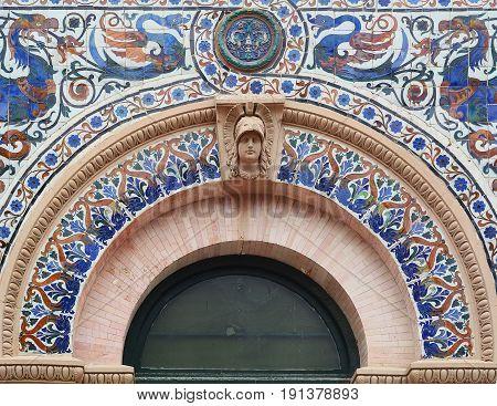 Details Of Palace Velasquez.