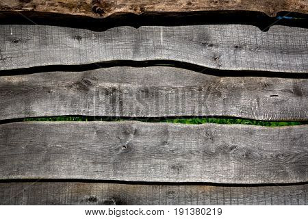 Aged wooden wall abstract background