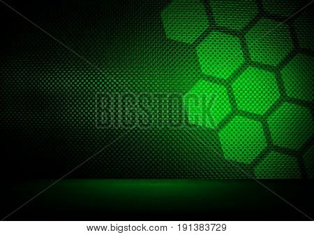 abstract metal with cellular design background