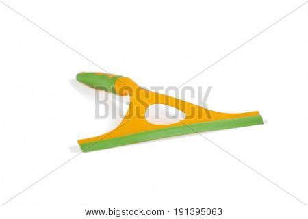 Window squeegee isolated on white background
