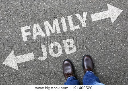 Family Job Work Children Child Kids Career Stress Life Business Concept