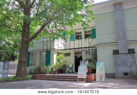 YOKOHAMA JAPAN - MAY 28, 2017: Historical Ehrismann Residence in Yamate. Ehrismann Residence was built in 1927 in Yamate foreign residents area.