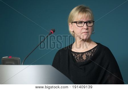 Minister Of Foreign Affairs Of Sweden Margot Wahlstrom