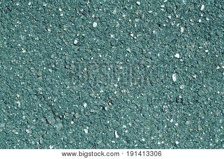 Cyan Color Asphalt Texture