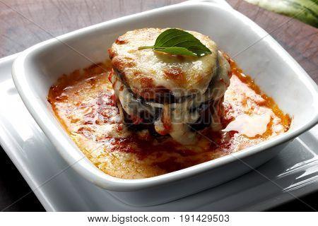 Roasted lasagna