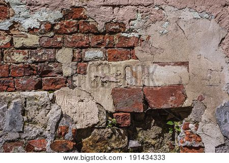 Brick Wall - Architecture Abstract Pattern