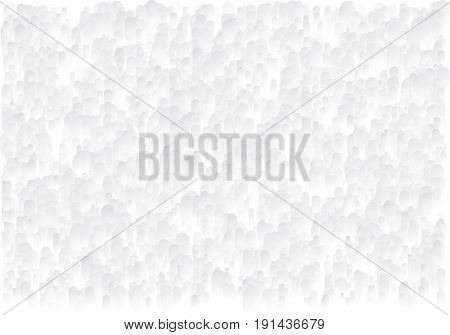Abstract background with drops. Grayscale granular texture. Halftone effect. Vector illustration