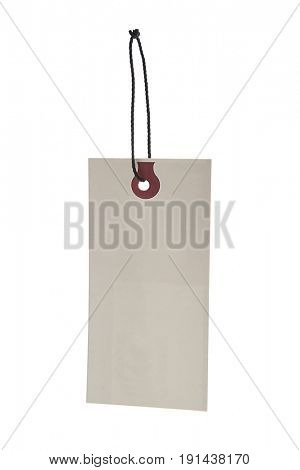 Gift Tag Isolated