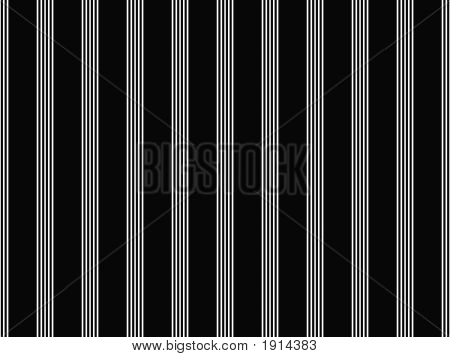 Op Art Black And White Smooth Stripes Three
