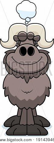Cartoon Ox Dreaming