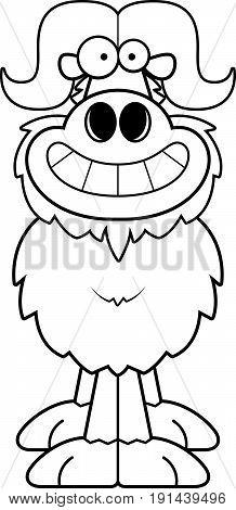 Happy Cartoon Ox