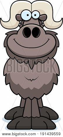 Smiling Cartoon Ox