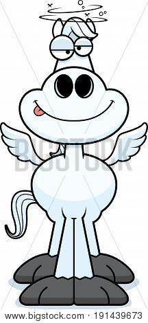 Drunk Cartoon Pegasus